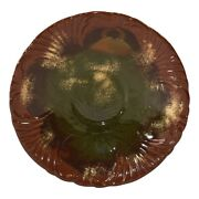 Rookwood Pottery 1884 Limoges Crab And Grass Saucer Under Plate 114 Fry