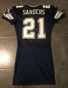 Dallas Cowboys Deion Sanders Nike 1998 Game Issued Jersey Size 44 Long