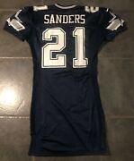 Dallas Cowboys Deion Sanders Nike 1999 Game Issued Jersey Size 44 + 7 Inches