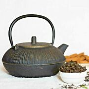 Traditional Indian New Handmade Cast Iron Tea Pot With Stainless Steel Infuser