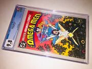 Omega Men 3 Cgc 9.8 White Pages 1st Appearance Of Lobo Cgc 0226888005 🔑