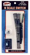 N Scale Atlas 2704 Code 80 6 Remote Left Hand Turnout/switch Snap-track