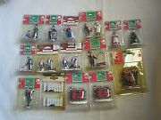 Set 15 Vintage Holiday Figurines Coventry Cove Lemax Christmas Tree Mrs Claus