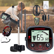 Professinal Gold Prospecting Metal Detector Kit , Lcd Display, Battery Included