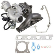 Stigan Turbo Turbocharger W/ Gaskets And Oil Line For Audi A4 A5 A6 Q5 2.0t