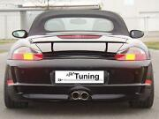 Porsche 997 Gt4 Style Update Rear Bumper For 986 Boxster 1997 To 2004