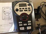 Roland Td-11 Drum Sound Module Harness Mount And Power Supply Nice