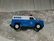 K-line Nypd Police Van Motorized Railroad Blue O Scale Very Rare