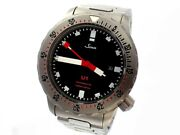 Sinn U1 1010 Automatic Diverand039s 1000m Tegimented Bracelet Menand039s 44mm Box And Papers