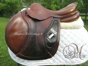 17.5 Cwd 2g Se17 Close Contact Jumping Saddle- 3c Flaps- Priced To Sell Fast