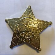 Sheriff Lincoln County Police Badge Old West Lincoln Nm