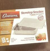 Stovetop Smoker - The Original Camerons Stainless Steel Smoker No Wood Chips