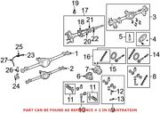 Genuine Oem Drive Axle Assembly For Jeep 68304591aa