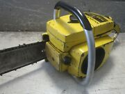 Vintage Collectible Mcculloch Mac 10-10 Light Weight Chainsaw With 20 Bar