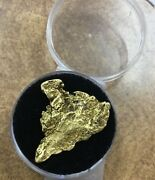 1 Large Natural Gold Nugget 7.8 Grams 1/4 Oz. 1.2andrdquo Long 30x 25mm In Size