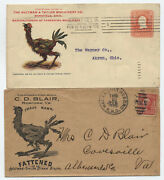 1905-6 2 Ad Covers Aultman And Taylor Machinery Inc.full Color Chicken [y4060]