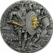 2017 Gods Of War Ares 2 Niue 2 Oz Silver Gorgeous Coin 1 Of Only 500 Minted