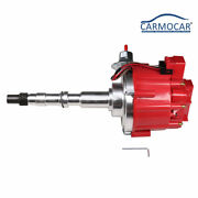 Red Hei Distributor W/ 65k Coil For Amc/jeep 1967-1990 290,304,343,360,390 And 401