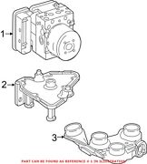 Genuine Oem Abs Hydraulic Assembly For Mercedes 2134315101