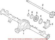 Genuine Oem Drive Axle Assembly For Nissan 430037s26a
