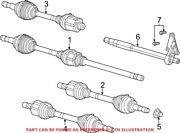 Genuine Oem Front Left Cv Axle Assembly For Ram 68168000ab