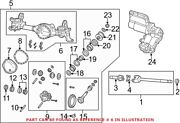 Genuine Oem Differential Housing For Ram 68216199ac