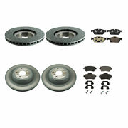Genuine Front 375mm And Rear 345mm Brake Kit Disc Rotors Pads For Mercedes X166