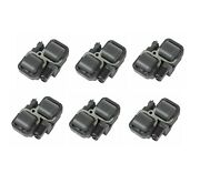 Genuine Set Of 6 Ignition Coils For Mercedes-benz W203 S203 W210 S210 W163 R170