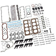 Roller Lifter + Gasket + Camshaft + Valley Cover For Gmc For Chevrolet For Buick