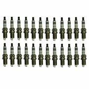 Bosch Oe Fine Wire Double Platinum Set Of 24 Spark Plugs For Mercedes C140 V12