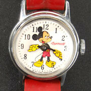 Us Time Mickey Mouse Watch Ingersoll Working All Original Ecoinsales