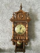 Black Forest Extra Large Clock With Chimes Extremely Rare