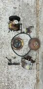 Chevy 250 Power Steering Pump/pulleys/ Brackets/two Groove Harmonic Balancer