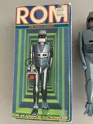 Rom The Space Knight Figure - 1979 Parker Brothers - Complete - Works Great