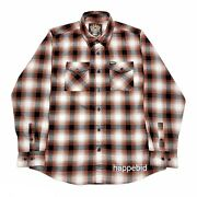Excellent Used Dixxon The Shovel Plaid Flannel Long Sleeve Men Xl Fast Shipping