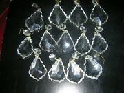 Lot Of 26 Large And Small Crystal Glass Prisms Clear
