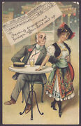 Post Office Telegraph Pressing Engagement Foreign Affair Donand039t Wait Up 1908 Pc
