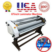 Upgraded 671700mm Wide Format Full-auto Hot/cold Laminating Machines - Usa