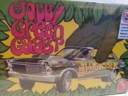 1/25 1965 Ford Galaxie 3 In 1 Jolly Green Gasser .amt Plastic Kit