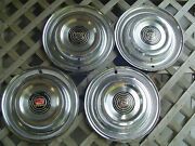 Vintage 1958 58 Buick Roadmaster Riviera Century Special Hubcaps Wheel Covers