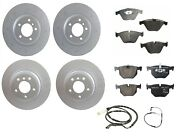 New Front And Rear Full Genuine Brake Kit Disc Rotors Pads Set For Bmw E90 E92