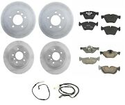 Front And Rear Full Genuine Brake Kit Disc Rotors Pads For Bmw E82 E88 128i
