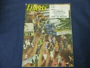 Vintage Liberty Magazine July 6, 1946 Annual 4th Of July Outing By Van Scozza