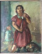 George Chann Chinese-american Artist Oil Painting