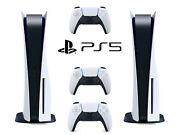 2 Sony Playstation 5 Ps5 Blu-ray Disc Edition Console Bundle Bluray Blueray