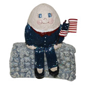 Enesco From A Nickle To The Belsnickle Enesco Humpty Dumpty Figurine 863319 New