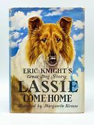 Eric Knight, Marguerite Kirmse / Lassie Come-home 1st Edition 1940