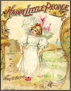 Mary Brine, Paul King / Happy Little People 1st Edition 1898