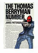 James Patterson / The Thomas Berryman Number Signed 1st Edition 1976