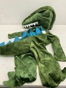 Pottery Barn Kids Light Up T-rex Toddler Costume 2t New With Tags -- Tested